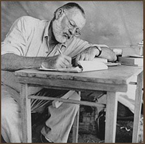 writing style of ernest hemingway